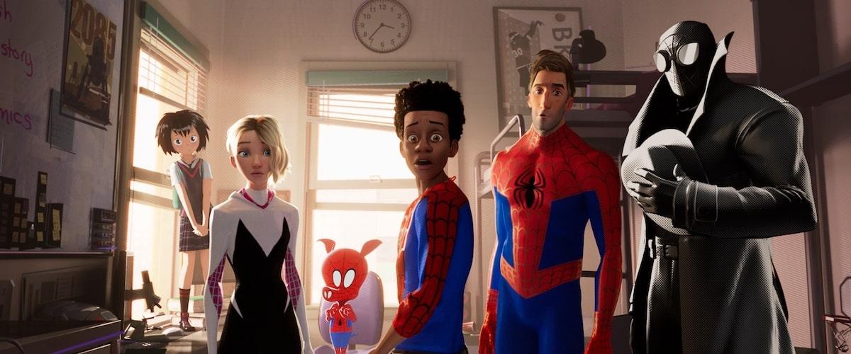 เรื่อง Spider-Man: Into The Spider-Verse